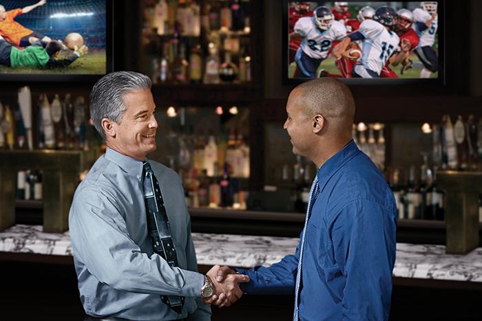 Satellite TV for Bars and Restaurants