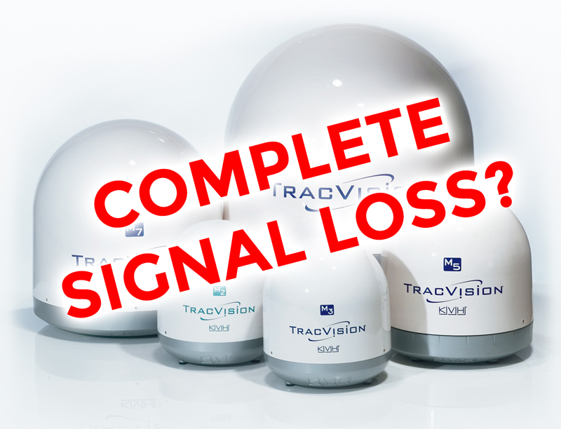 Does your dish have complete signal loss?