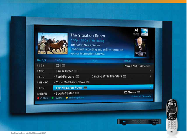 DIRECTV Residential Experience.