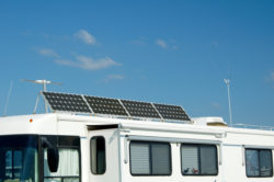 Camping with Solar Panels