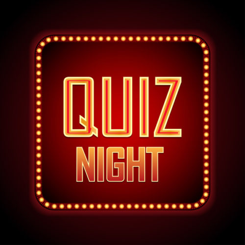 games and contests at the bar such as quiz night