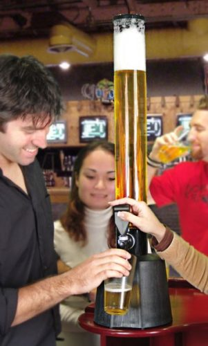 beer tower booze tube