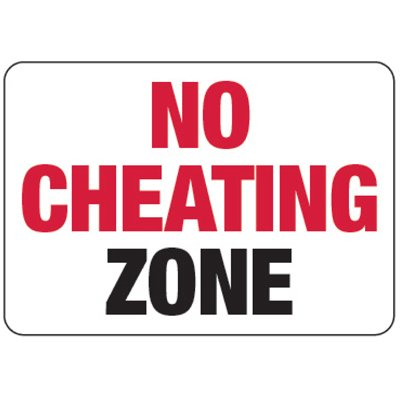 don't cheat DIRECTV No Cheating Zone