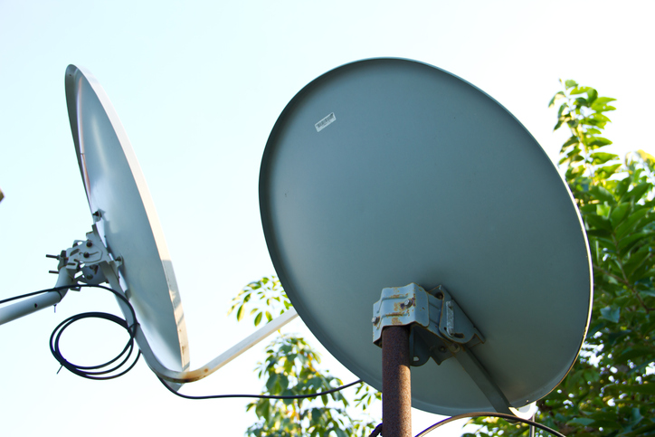 Satellite Dish Antenna with Mounts