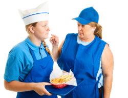 fast food restaurant manager