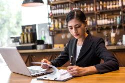bar owner creating a marketing plan