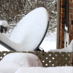A Satellite Dish Heater is Winter Preparation